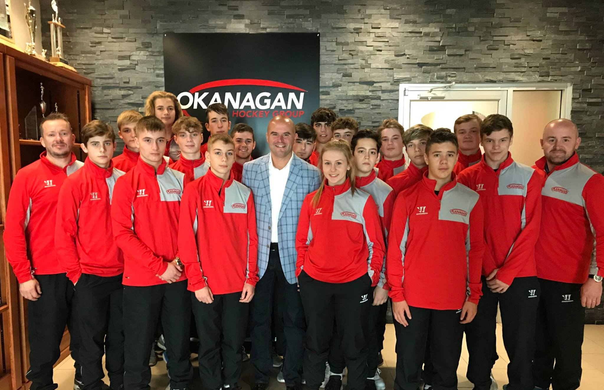 canada trip OHG Okanagan Ice Hockey Academy Junior UK