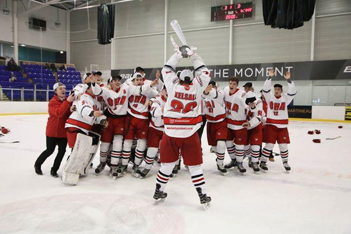 Okanagan Ice Hockey Academy UK Junior team uk