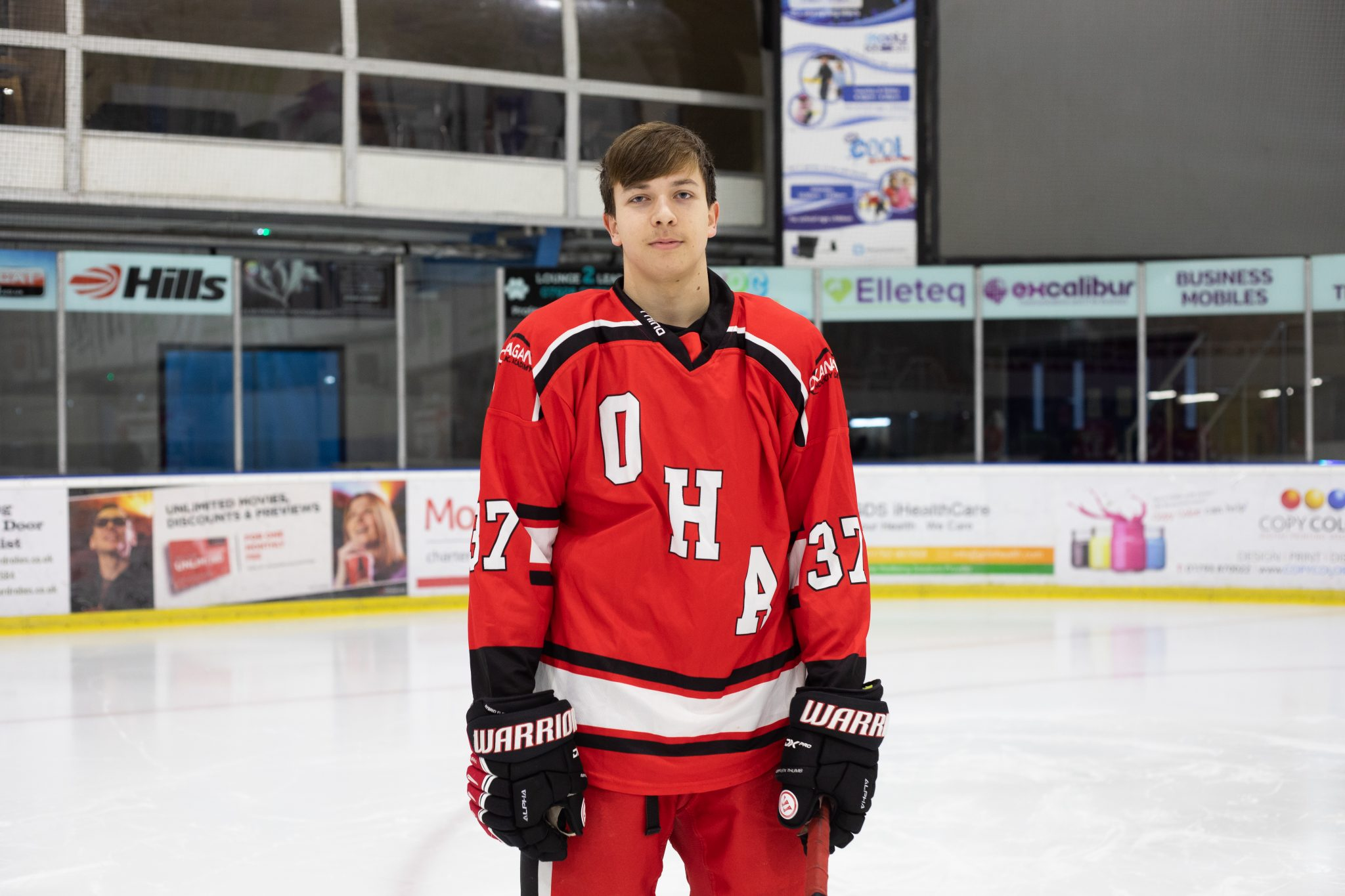 Okanagan Ice Hockey Academy UK Player
