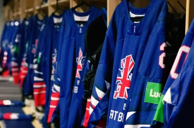Great Britain Ice Hockey Trials Junior U16 U18 U20